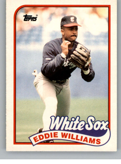 1989 Topps Traded #127T Eddie Williams NM-MT Chicago White Sox