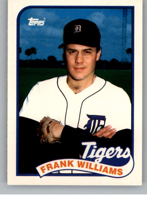 1989 Topps Traded #128T Frank Williams NM-MT Detroit Tigers