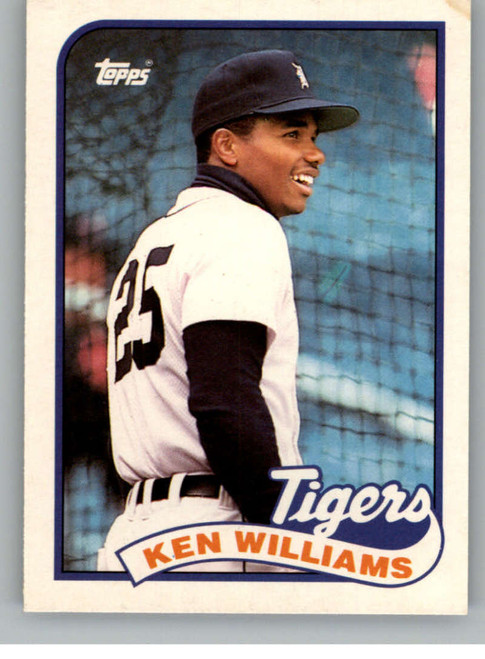 1989 Topps Traded #129T Kenny Williams NM-MT Detroit Tigers
