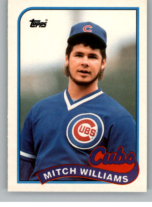 1989 Topps Traded #130T Mitch Williams NM-MT Chicago Cubs