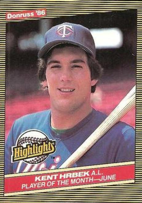 1986 Donruss Highlights #19 Kent Hrbek NM-MT Minnesota Twins