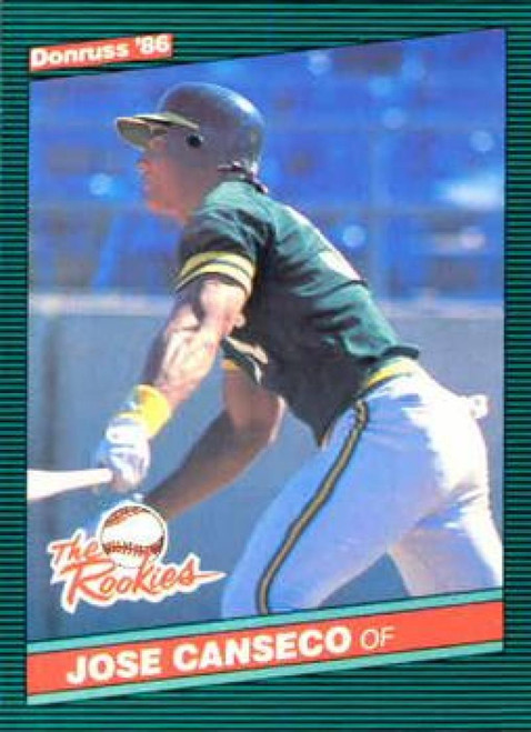 1986 Donruss Rookies #22 Jose Canseco NM-MT Oakland Athletics