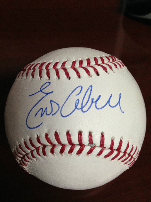 SOLD 838 Enos Cabell Autographed ROMLB Baseball