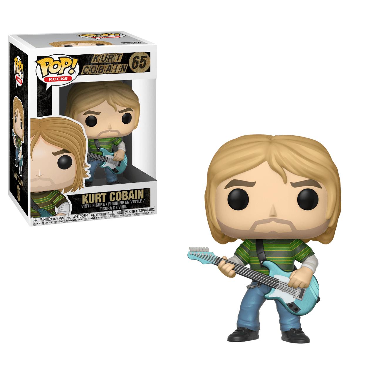 POP! Rocks ~ Kurt Cobain #65