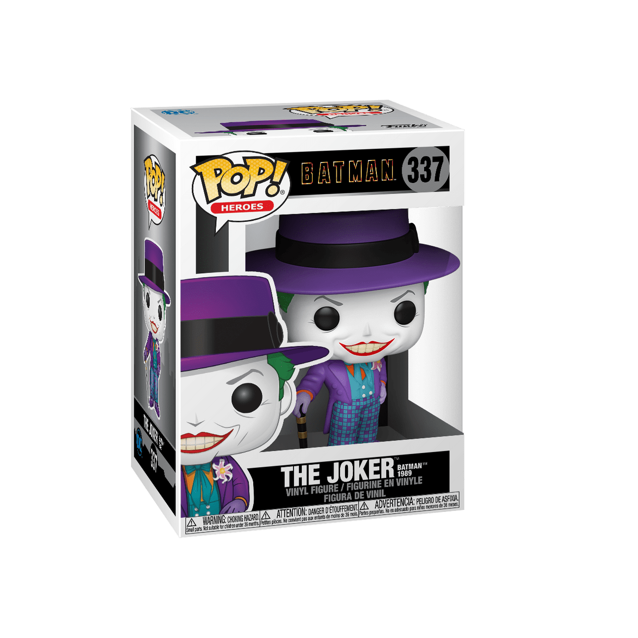 POP! Heroes ~ Batman 1989 ~ The Joker #337