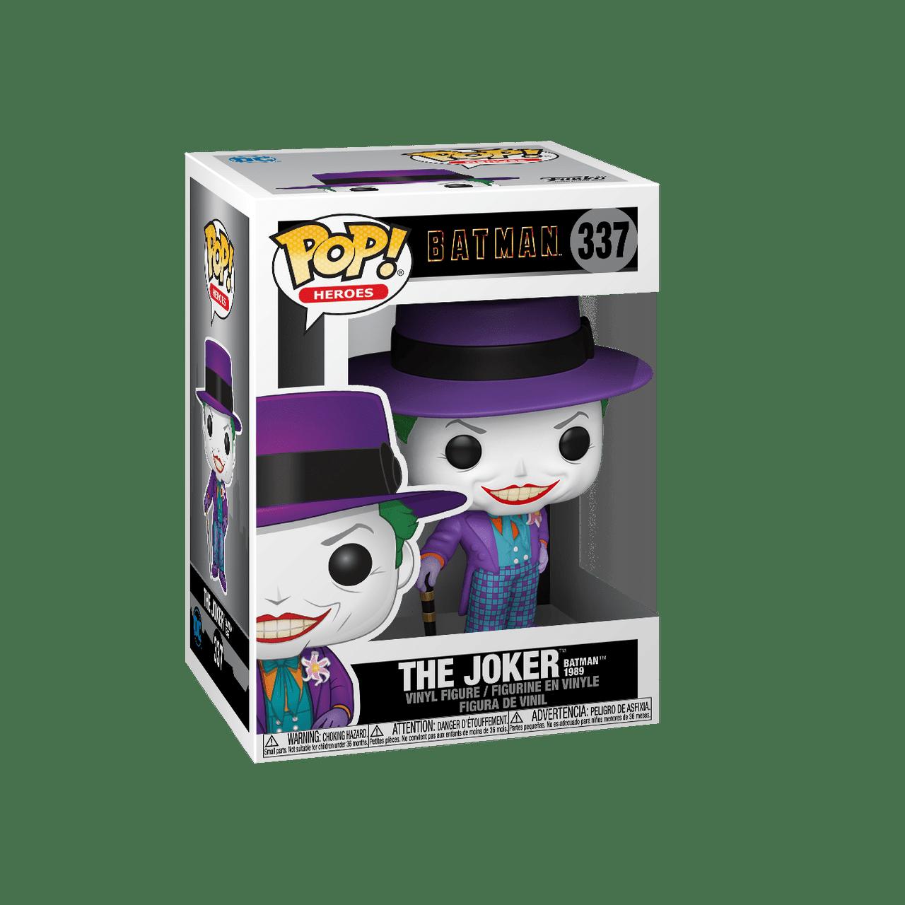 POP! Heroes ~ Batman 1989 ~ The Joker #337