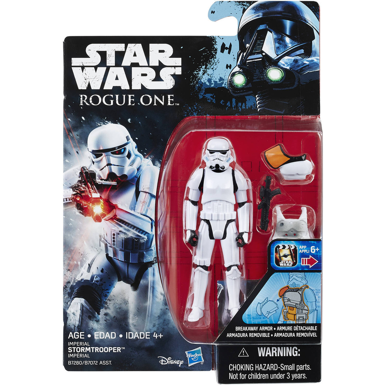 """Copy of Star Wars ~ Rogue One ~ Imperial Stormtrooper 3 3/4"""" Action Figure"""