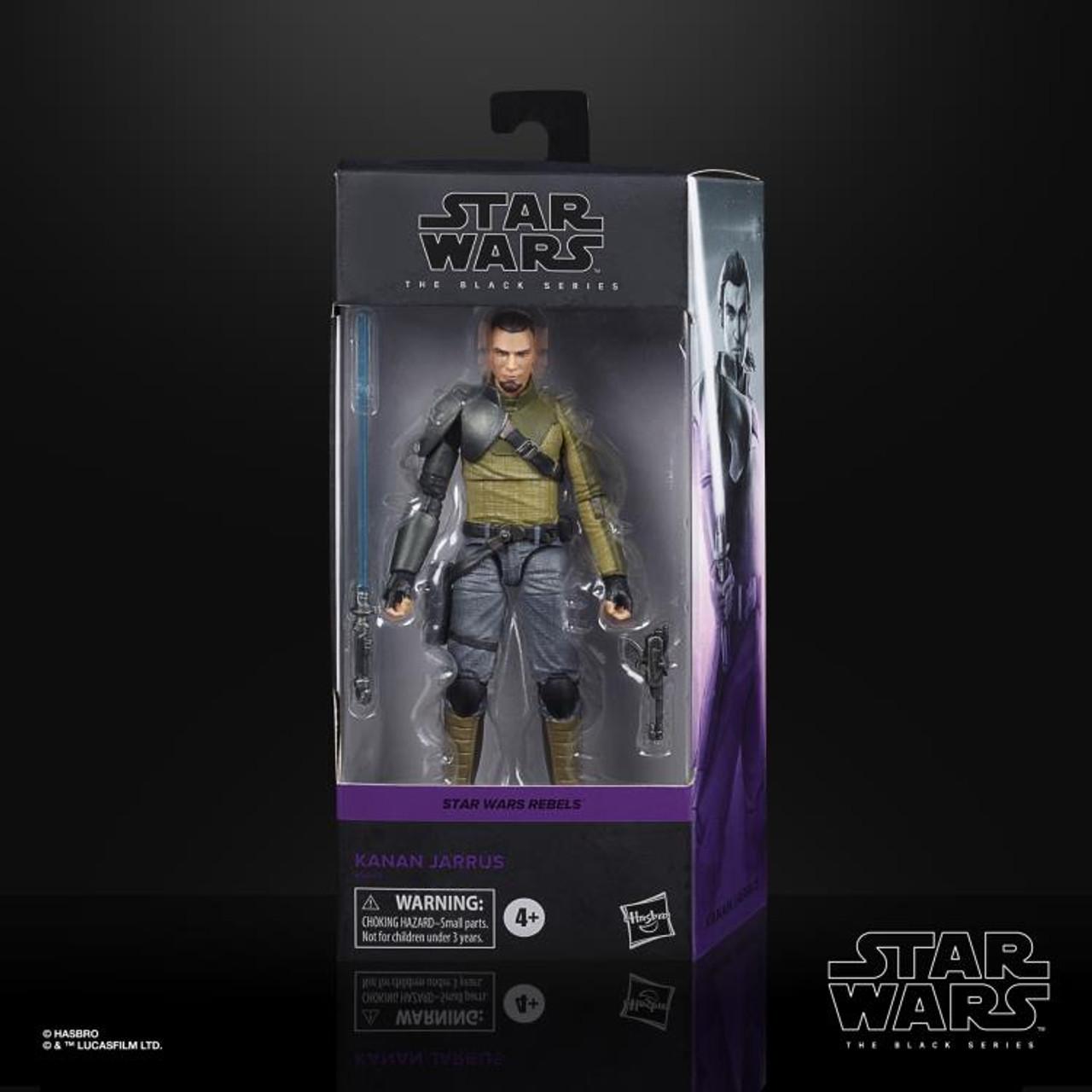"Star Wars The Rebels ~ The Black Series ~ Kanan Jarrus  6"" Action Figure"