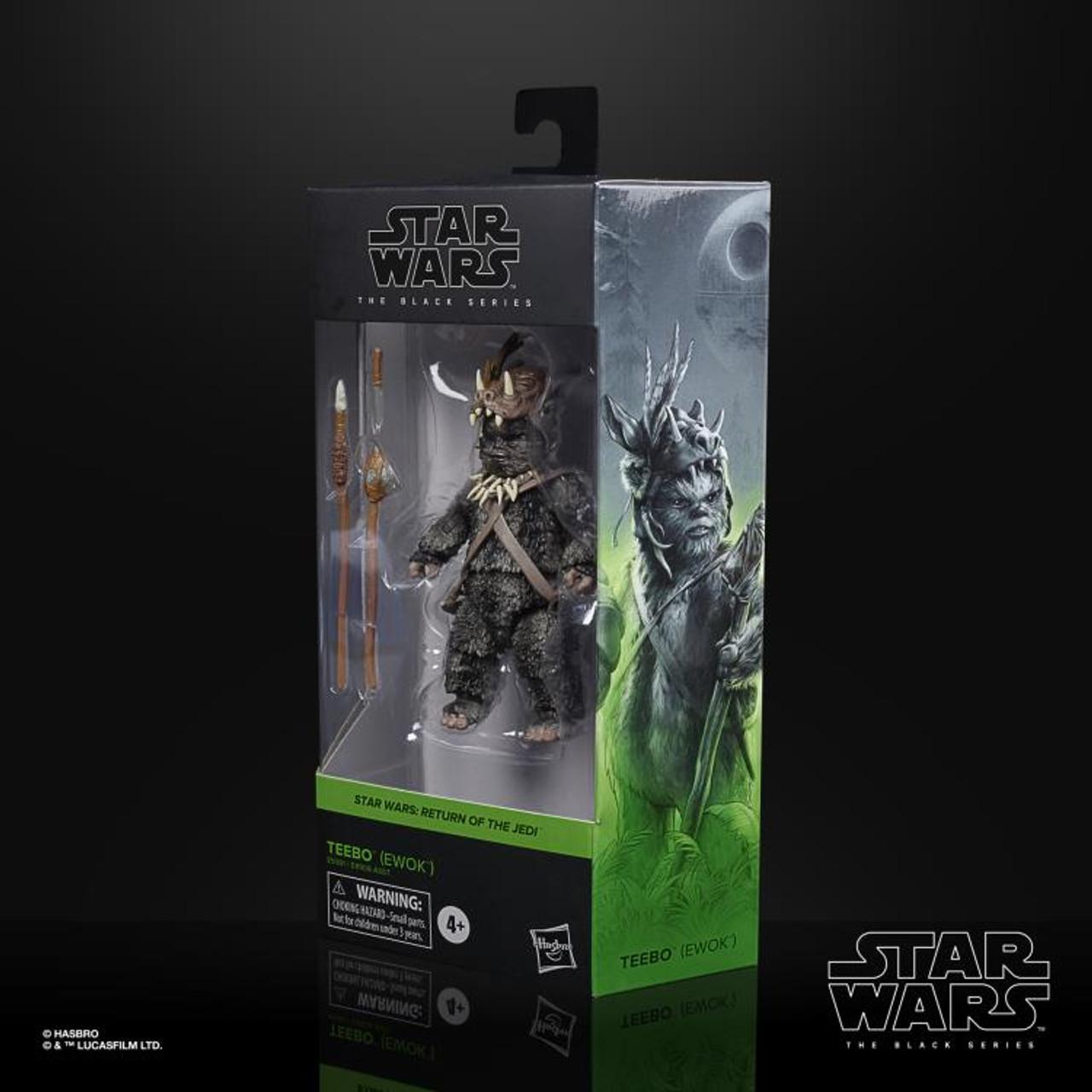 "Star Wars Return Of The Jedi ~ The Black Series ~Teebo 6"" Action Figure"