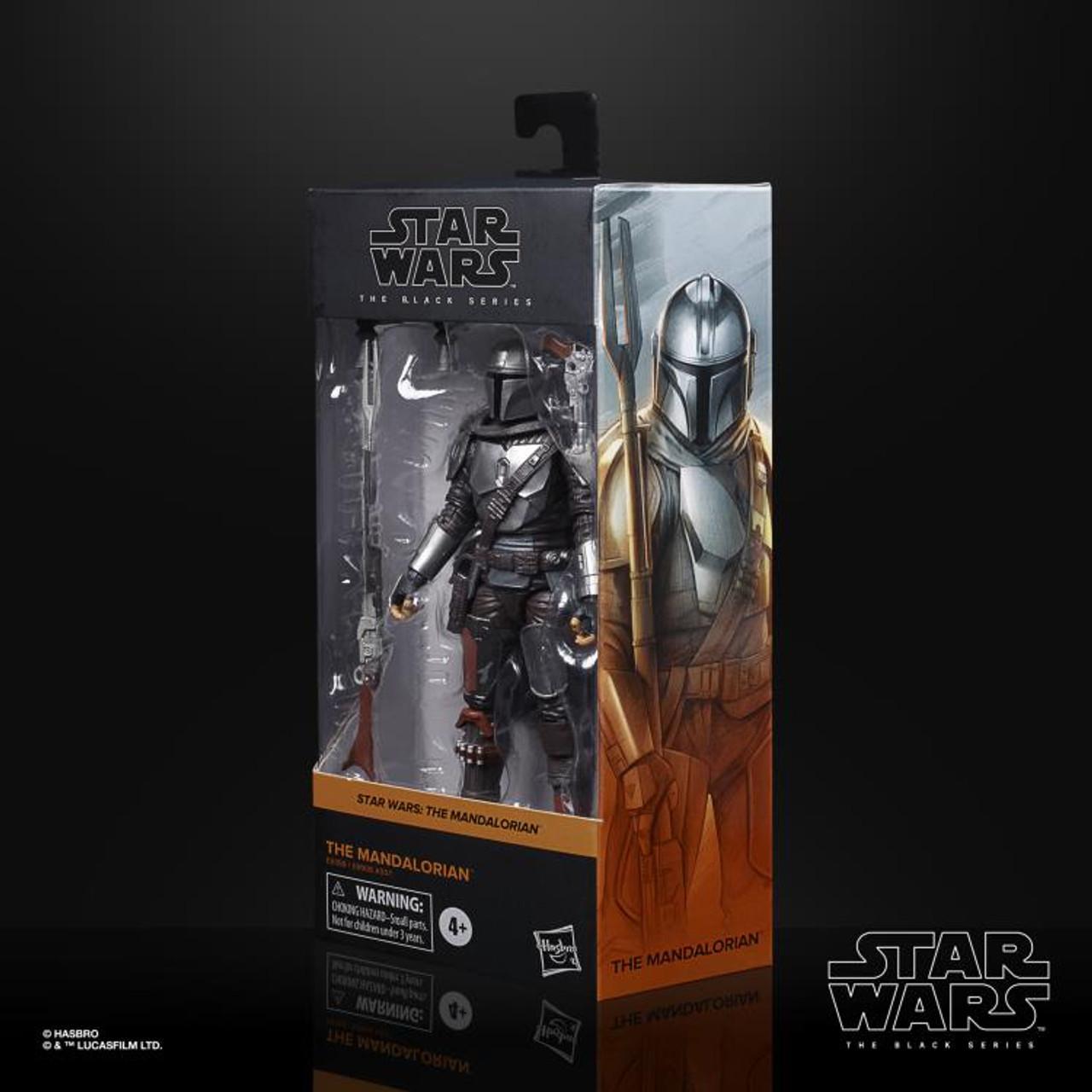 "Star Wars The Mandalorian ~ The Black Series ~The Mandalorian (Beskar Armor) 6"" Action Figure"