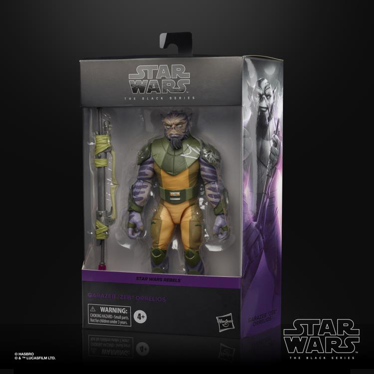"Star Wars Rebels ~ The Black Series ~ Zeb Orrelios  6"" Action Figure"