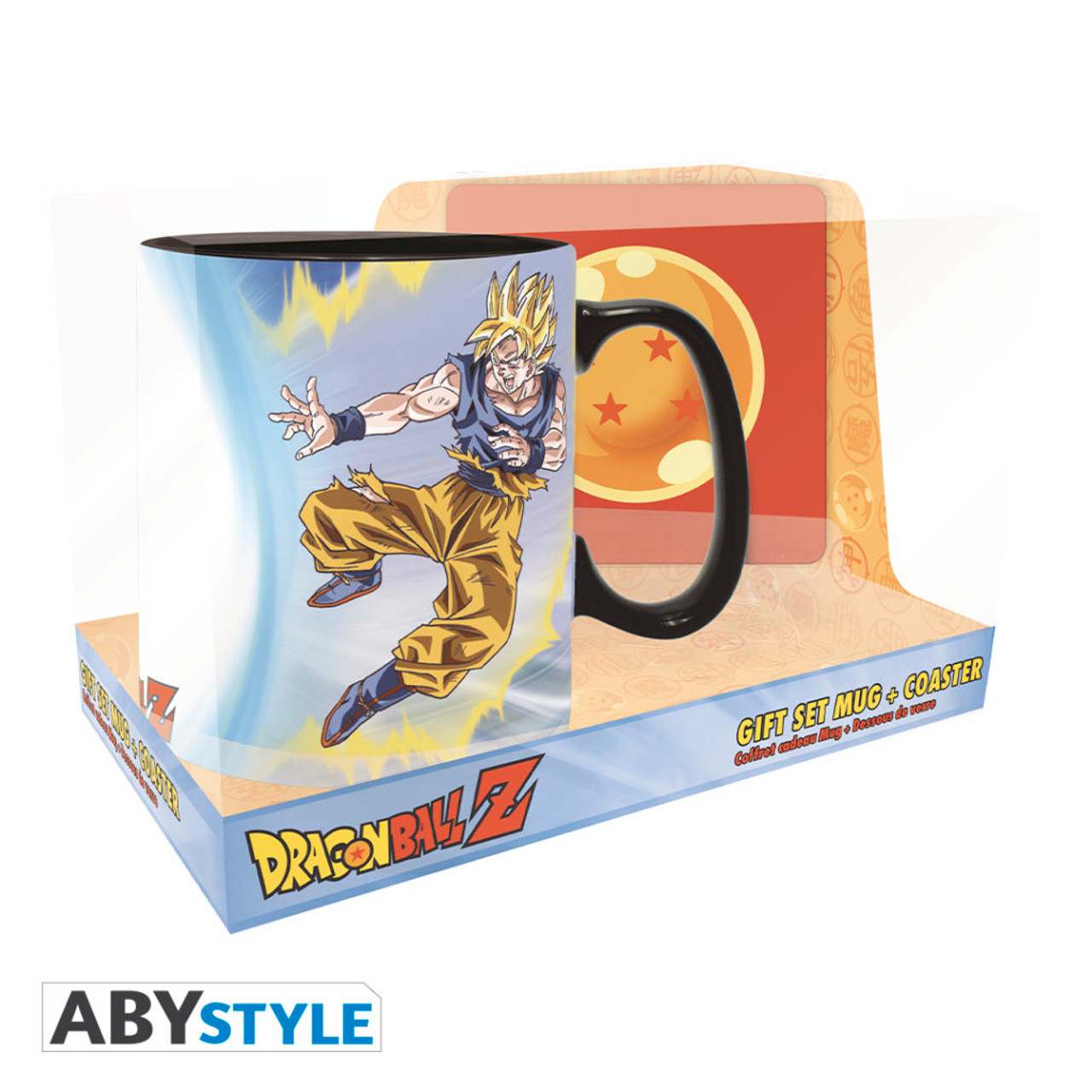 Dragon Ball Z ~ Magic Mug & Coaster Gift Set