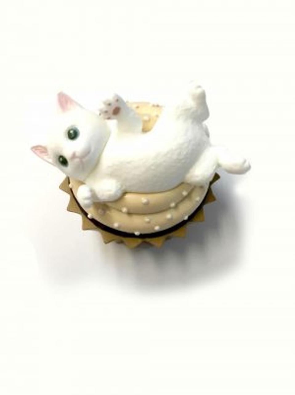Blind Box ~ Café du Meow Keyring  ~ 1 of 8 Random Figurines