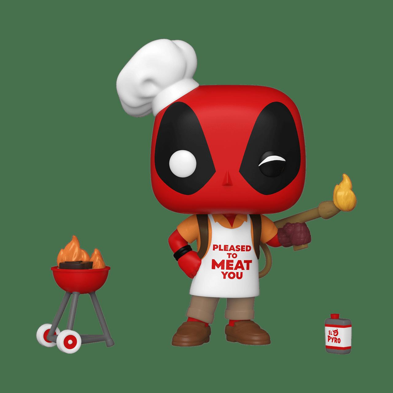 POP! Marvel ~ Deadpool ~ Backyard Griller Deadpool #774