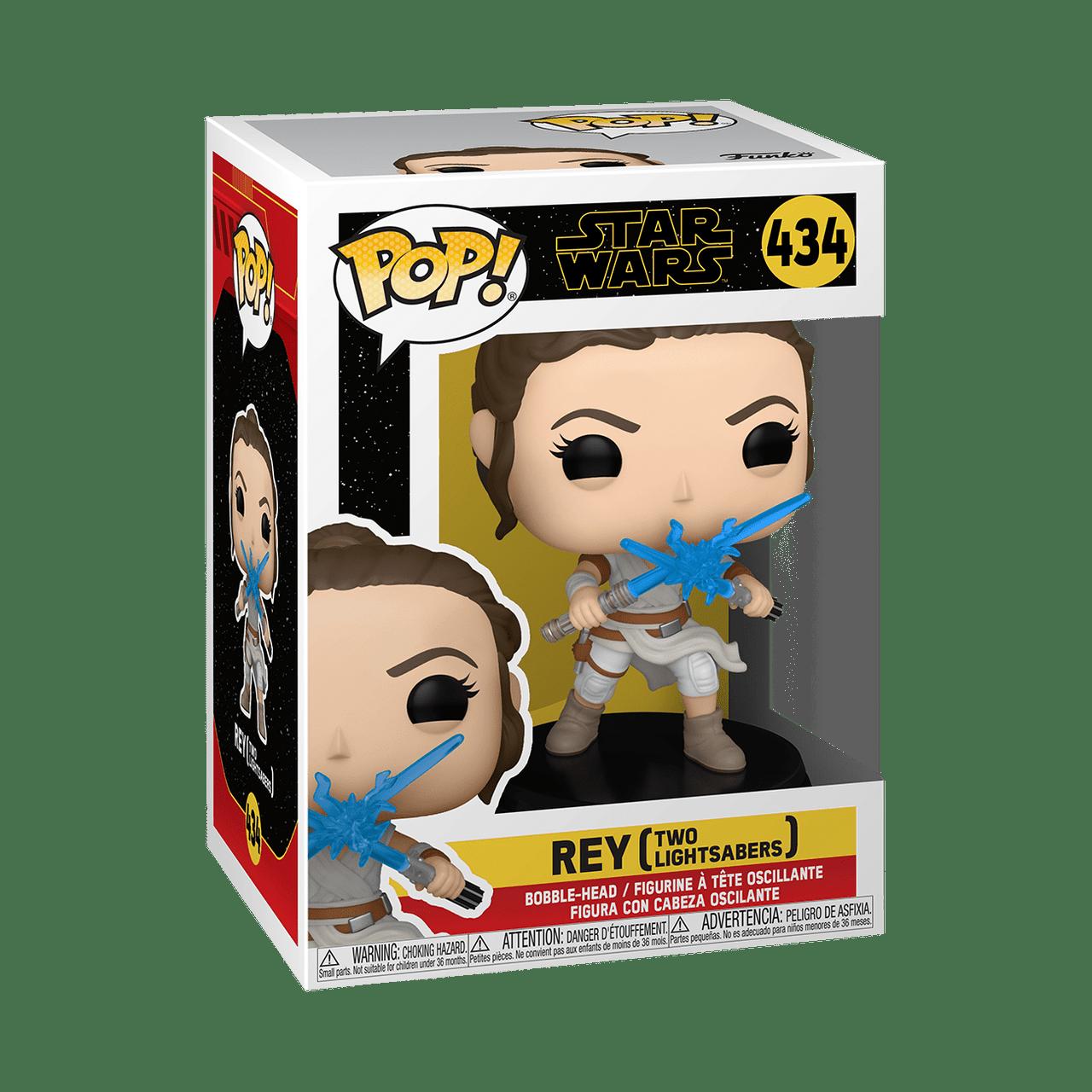 POP! Star Wars ~ Rise Of Skywalker ~ Rey (Two Lightsabers) #434