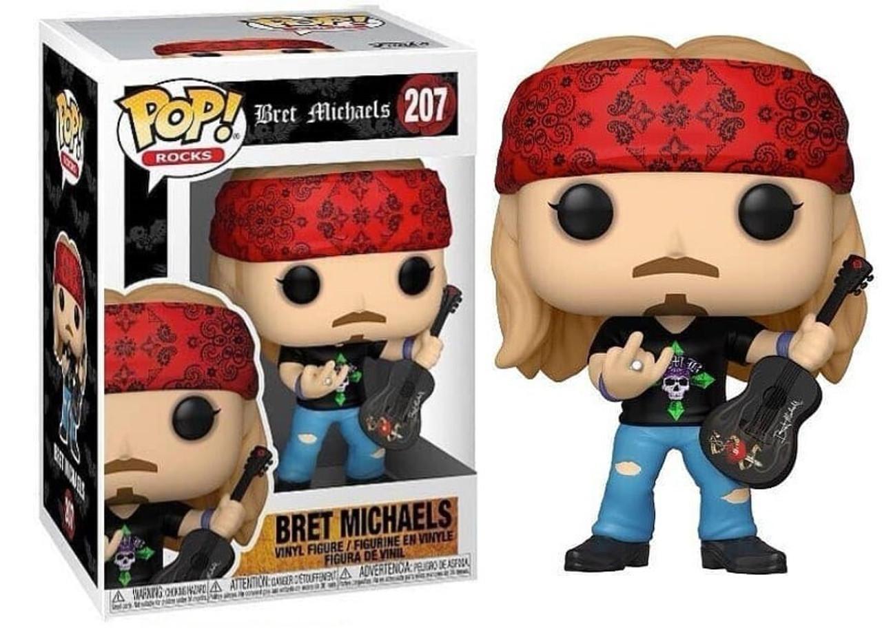 POP! Rocks ~ Poison ~ Bret Michaels #207