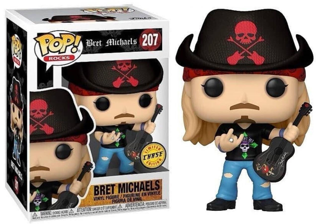 POP! Rocks ~ Poison ~ Bret Michaels #207 Chase