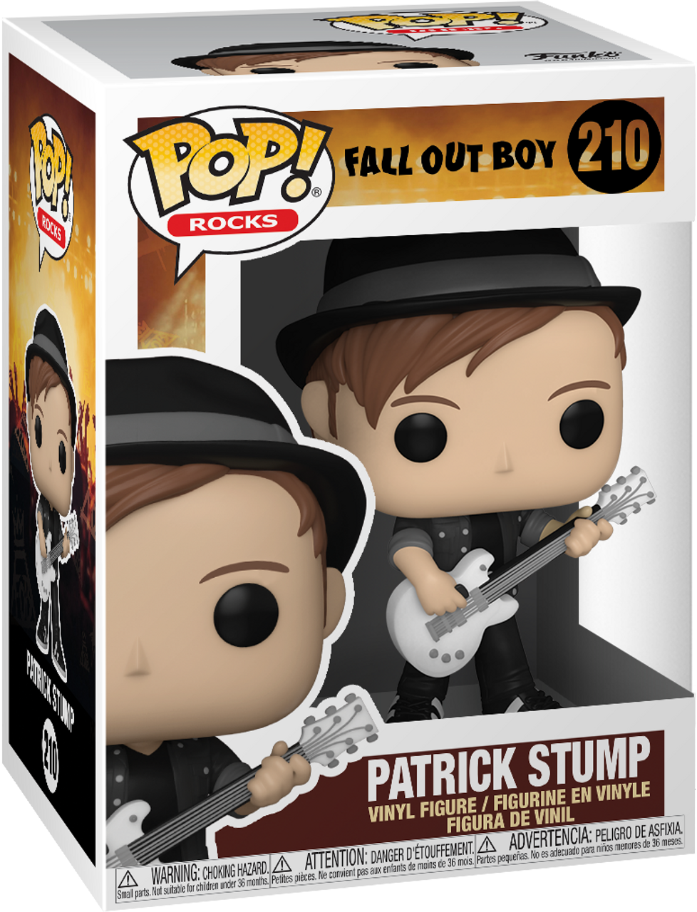POP! Rocks ~ Fall Out Boy ~ Patrick Stump #210
