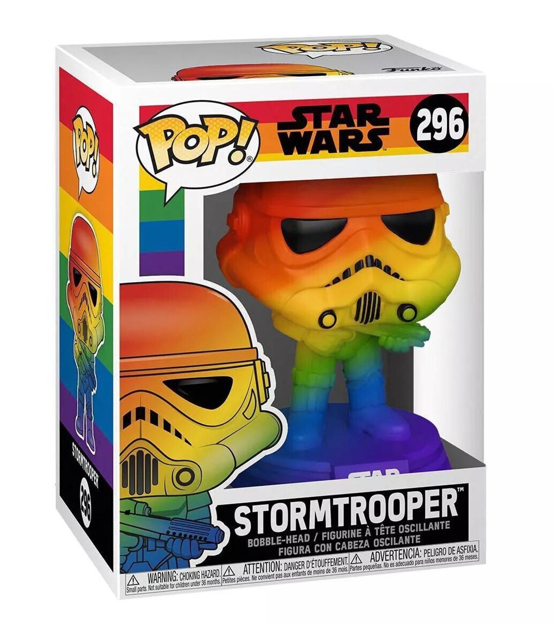 POP! Pride ~ Star Wars ~ Stormtrooper #296