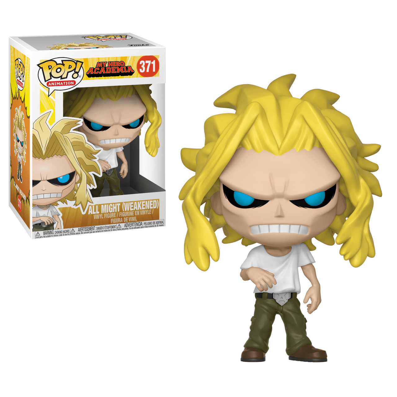 POP! Animation - My Hero Academia - All Might (Weakened)#371