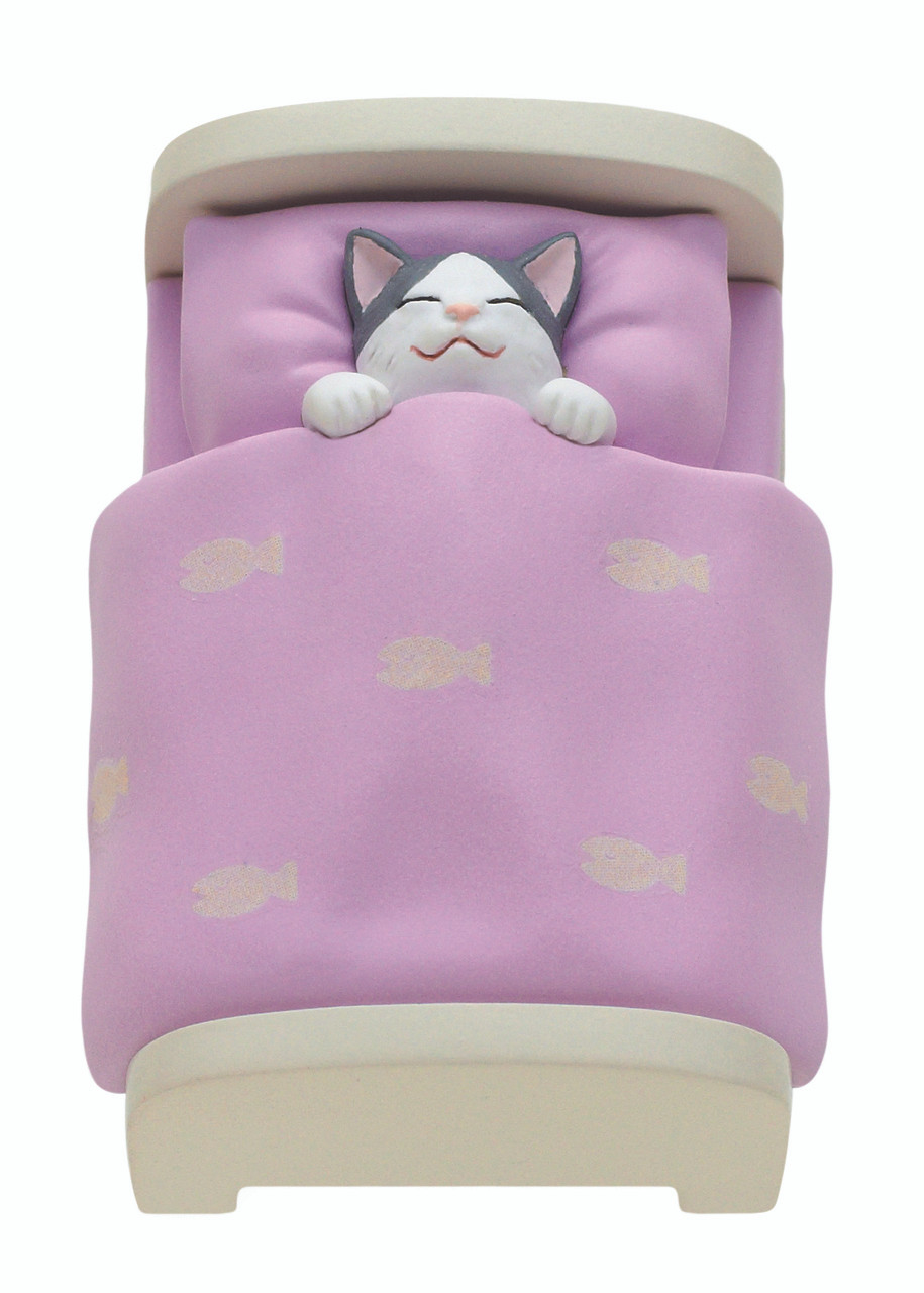 Blind Box ~ Cat In a Bed  ~ Includes 1 of 5  Figurines