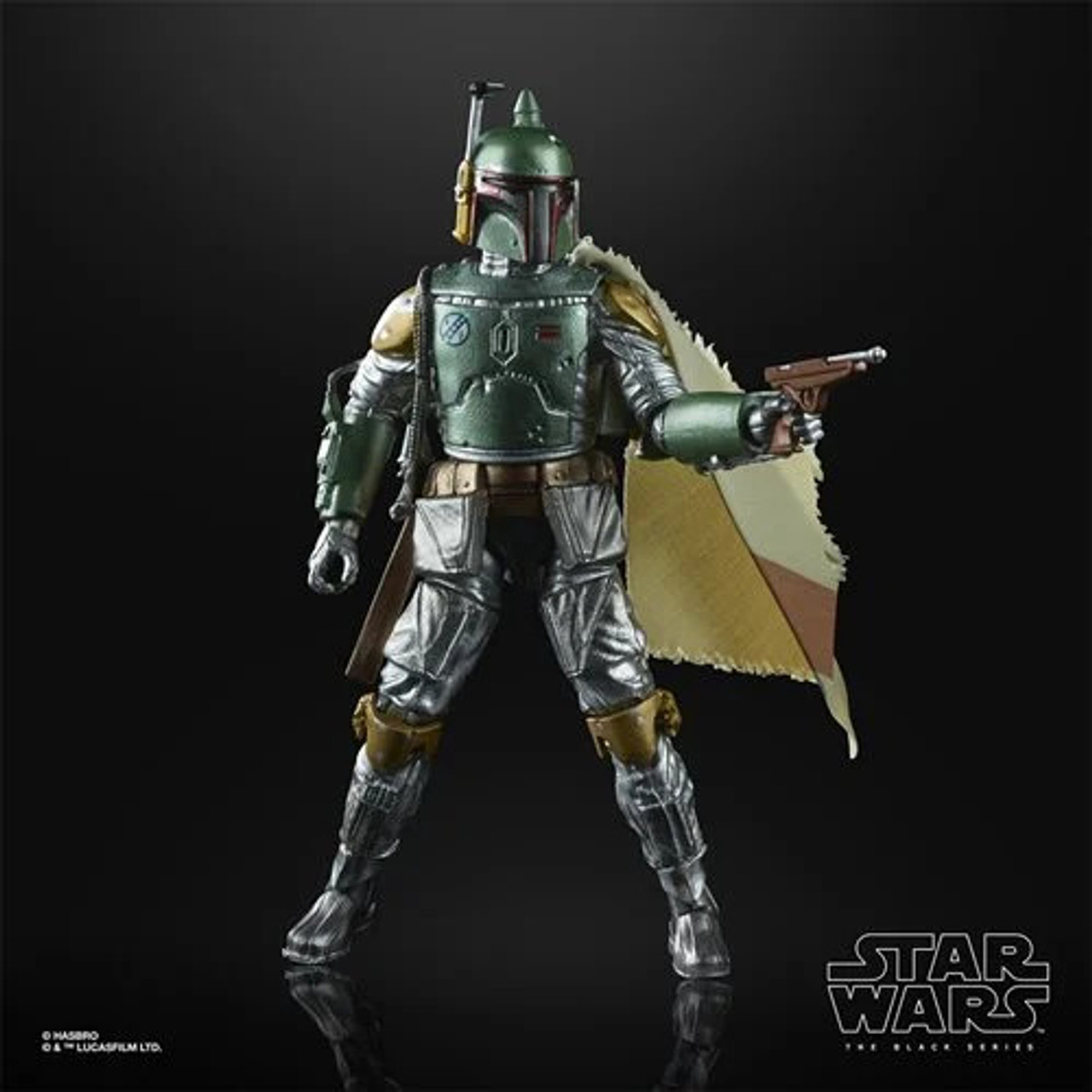 Star Wars ~ The Black Series ~ Carbonized Boba Fett 6-Inch Action Figure