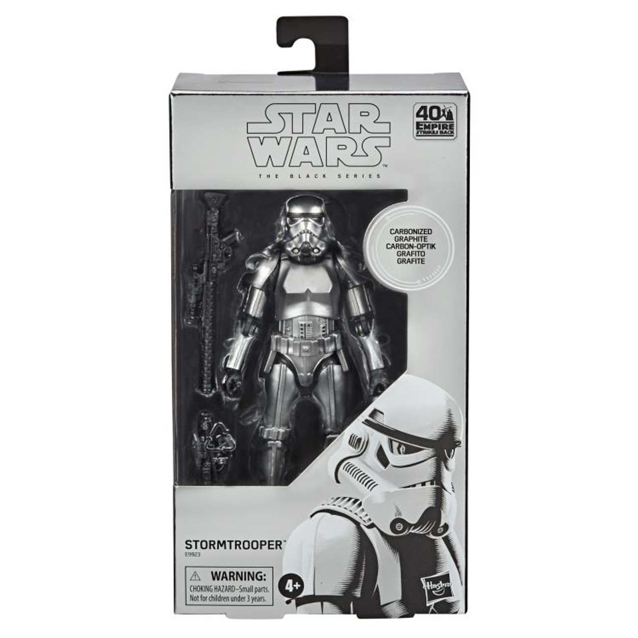 Star Wars ~ The Black Series ~ Carbonized Stormtrooper 6-Inch Action Figure Box