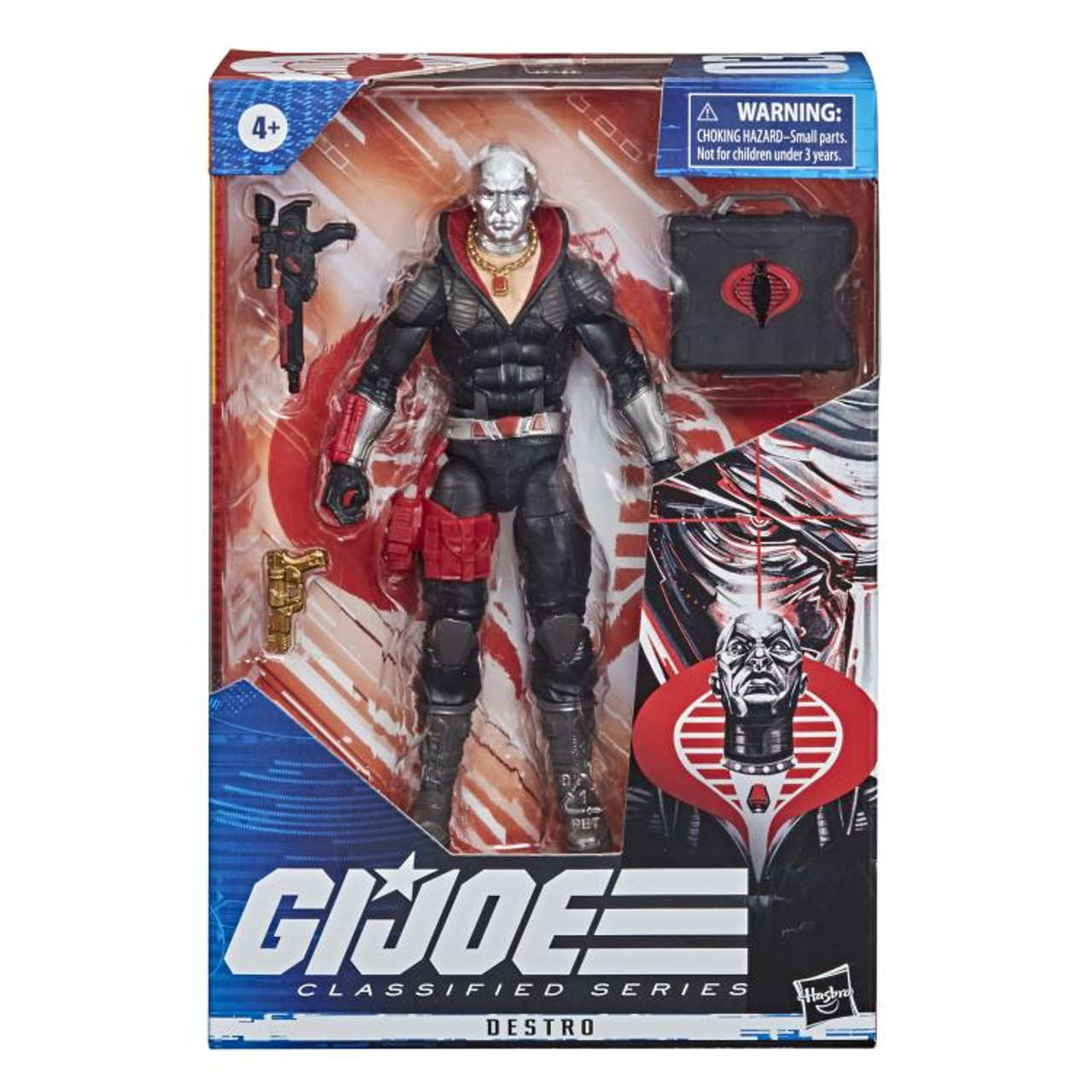 G.I. Joe ~ Classified Series  ~ 6-Inch Destro Action Figure