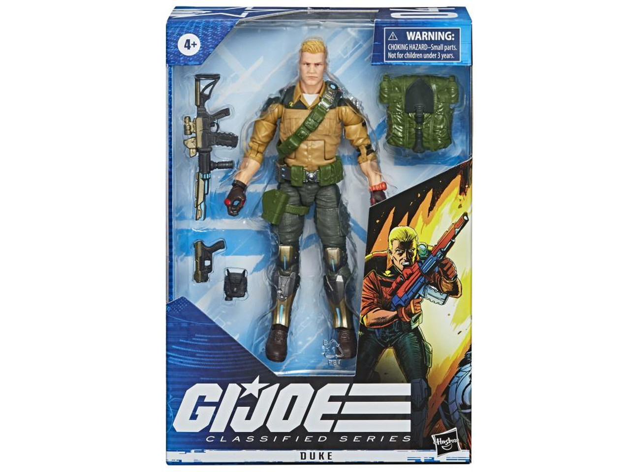 G.I. Joe ~ Classified Series  ~ 6-Inch Duke Action Figure
