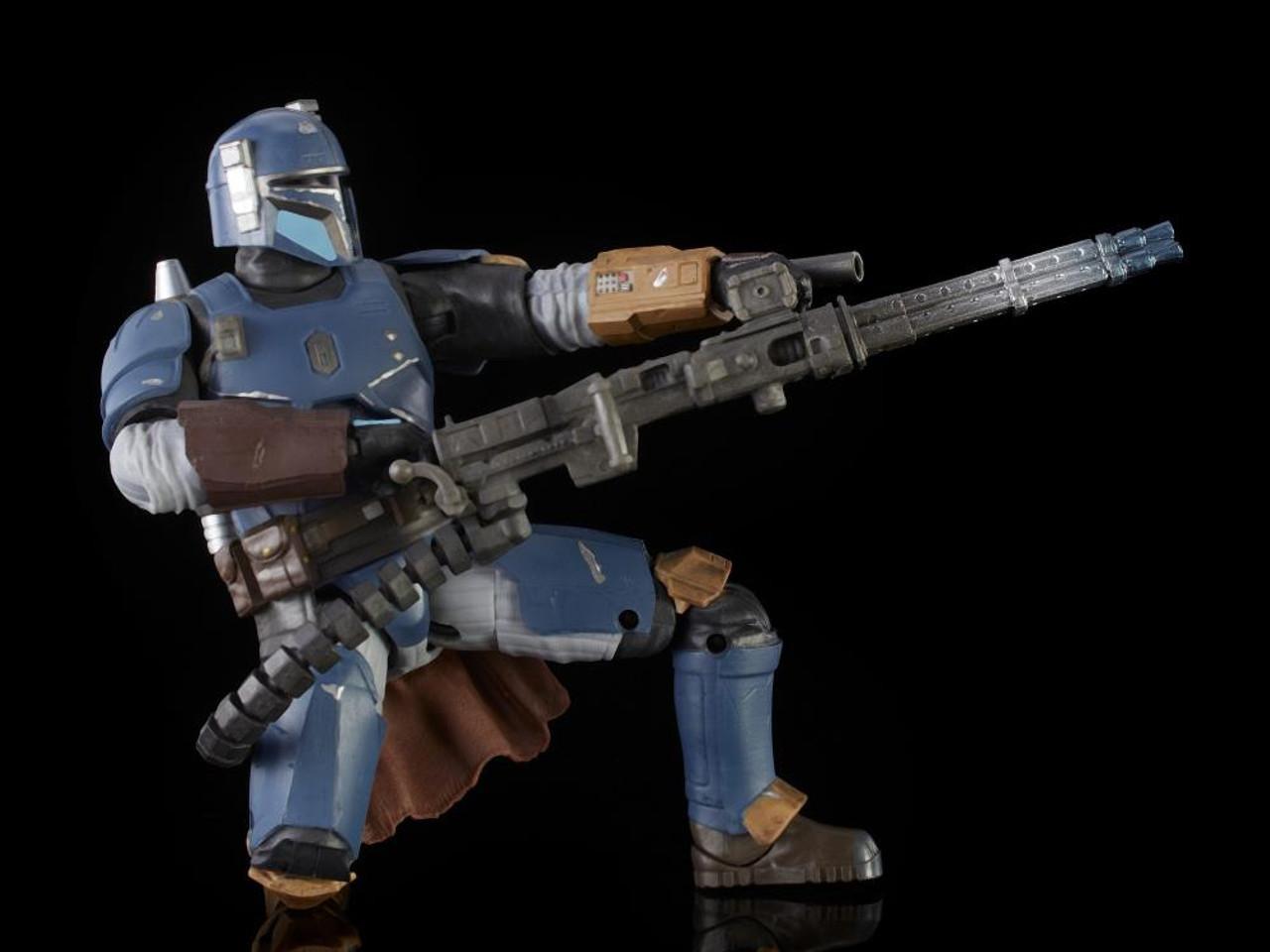 Star Wars ~ The Black Series ~ The Mandalorian ~ Heavy Infantry Mandalorian  Action Figure