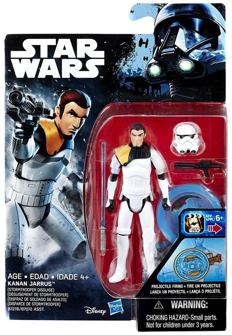"Kanan in Stormtrooper Disguise Star Wars rebelles Rogue One 3.75/"" ACTION FIGURE"