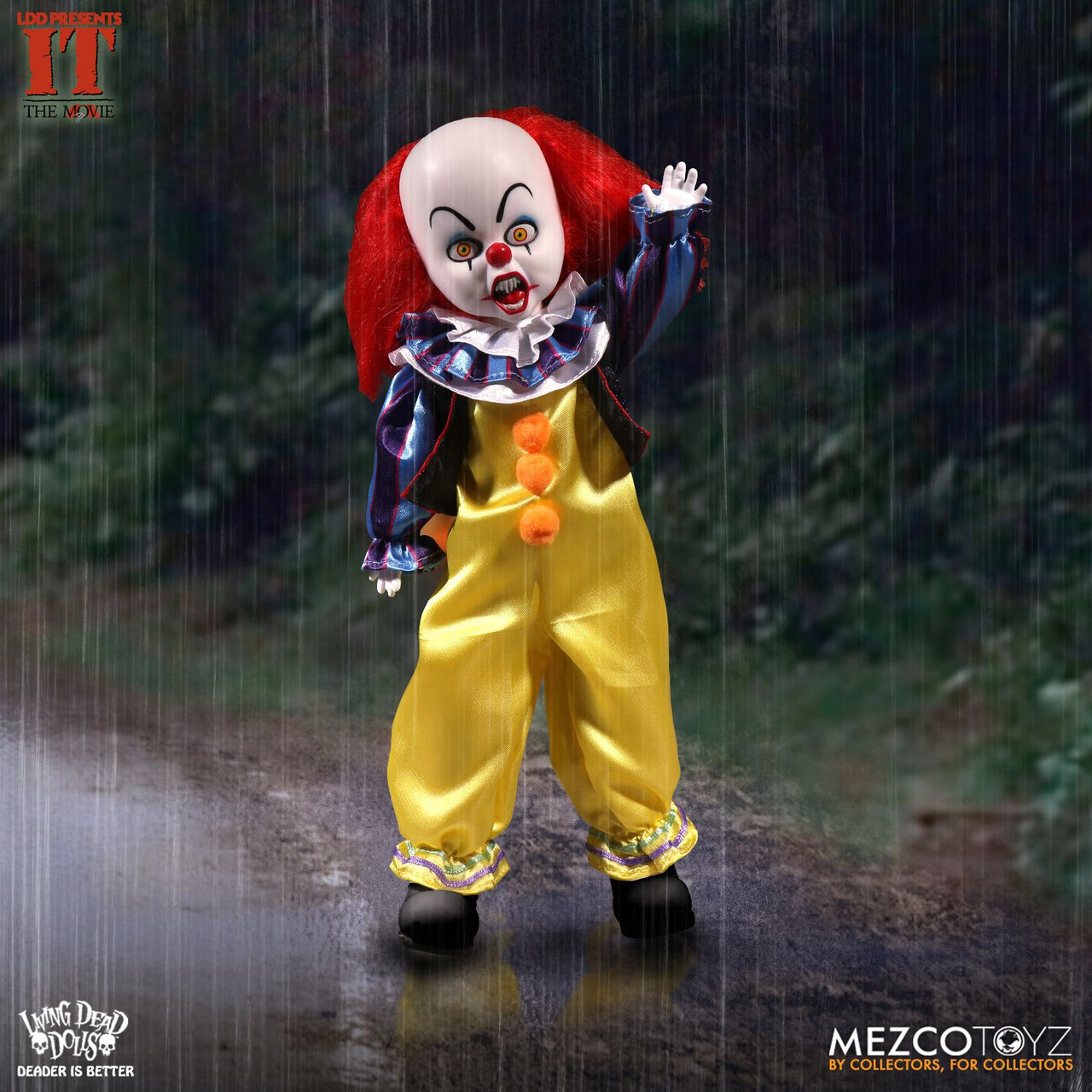 Living Dead Dolls Presents ~ IT 1990 ~ Pennywise
