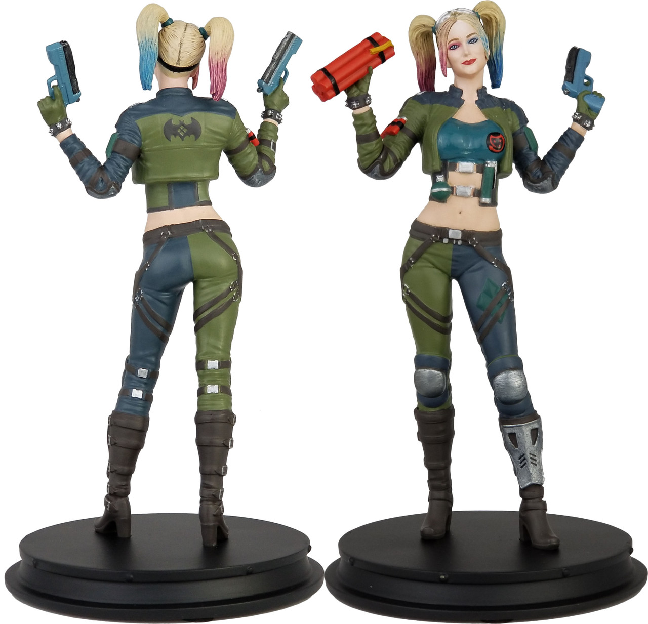DC Injustice ~ Harley Quinn (Green Jacket) Statue PX Exclusive 1 of 500