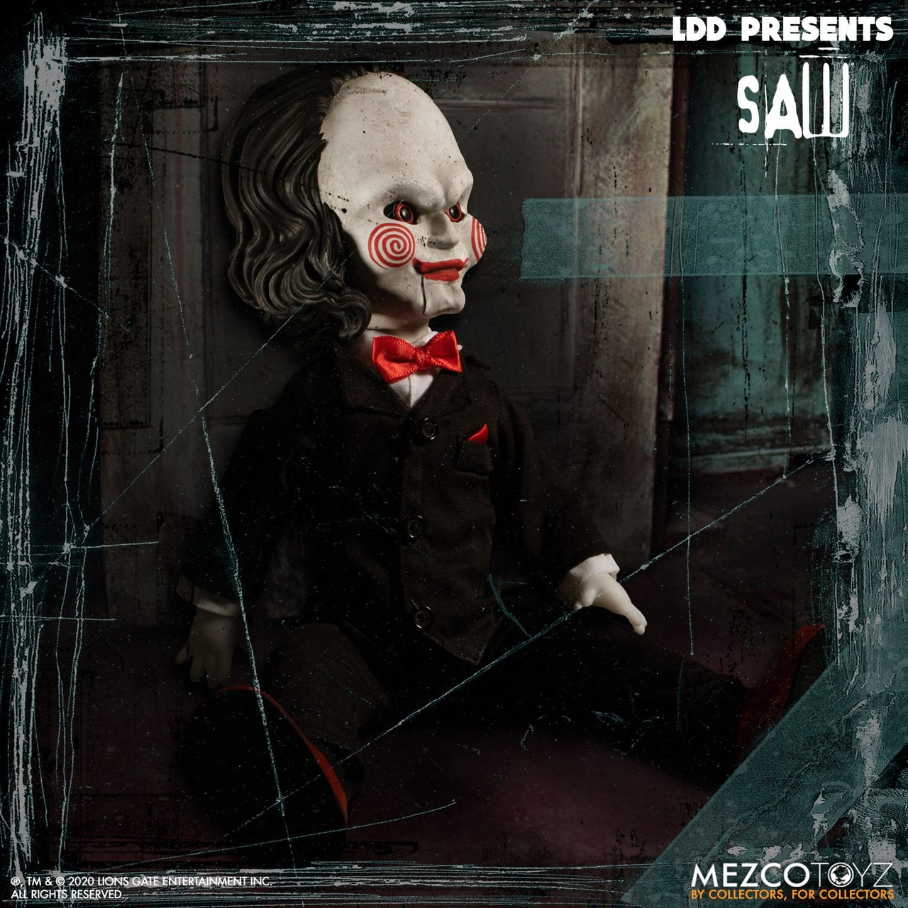 Living Dead Dolls Presents ~ Saw ~ Billy Doll