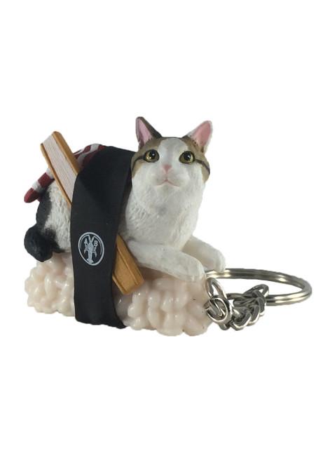 Blind Box ~ Sushi Cat (Nekozushi) Keyring  Version 2 ~ Includes 1 of 5  Figurines