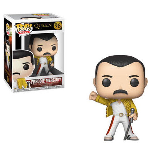 POP! Rocks ~ Queen ~ Freddie Mercury (Wembley 1986) #96