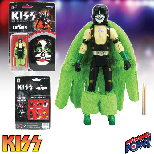 """Kiss Dynasty ~ The Catman  3 3/4"""" Action Figure"""