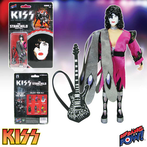 """Kiss Dynasty ~ The Starchild  3 3/4"""" Action Figure"""