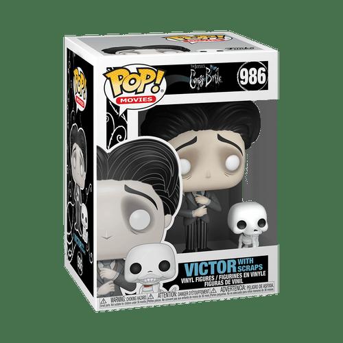 POP! Movies ~ Corpse Bride ~ Victor with Scraps  #986