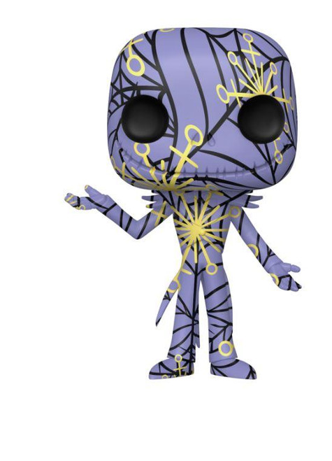 POP! Disney ~ The Nightmare Before Christmas ~ Jack (Artist Series) With Case