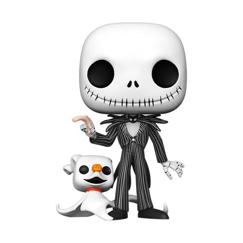 POP! Disney ~ The Nightmare Before Christmas ~ 10-Inch Jack with Zero #809