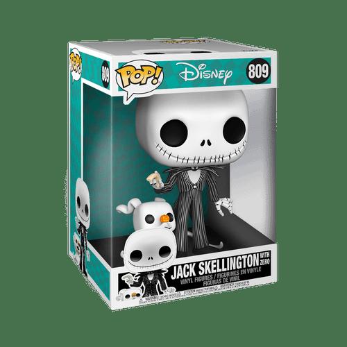 POP! Disney ~ The Nightmare Before Christmas ~ 10-Inch Jack with Zero #809