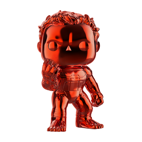 POP! Marvel ~ Avengers Endgame ~ Hulk #499 (Red Chrome)