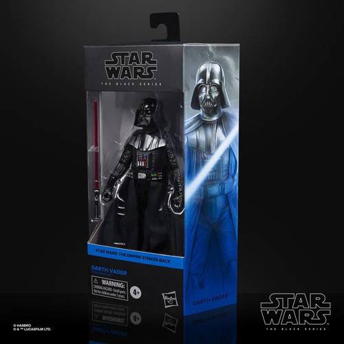 "Star Wars The Empire Strikes Back ~ The Black Series ~  Darth Vader  6"" Action Figure"