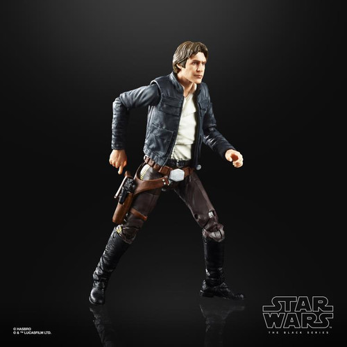 """Star Wars The Empire Strikes Back 40th Anniversary ~ The Black Series ~ Han Solo (Bespin)  6"""" Action Figure"""
