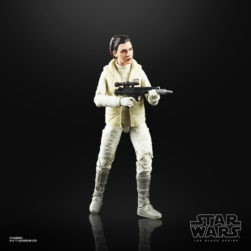 "Star Wars The Empire Strikes Back 40th Anniversary ~ Princess Leia Organa (Hoth) 6"" Action Figure"