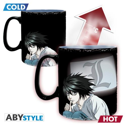 Death Note ~ L & Kira Magic 16oz Mug