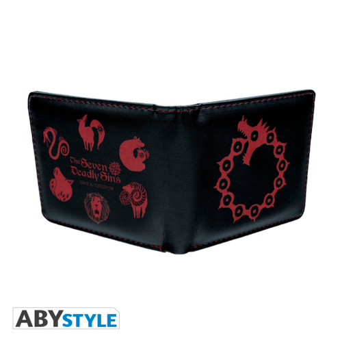 Seven Deadly Sins ~ Wallet and Key Chain Gift Set