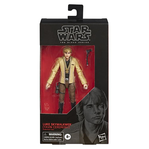 "Star Wars ~ The Black Series ~ Luke Skywalker (Yavin Ceremony)  6"" Action Figure"