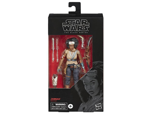 "Star Wars ~ The Black Series ~ Jannah 6"" Action Figure"